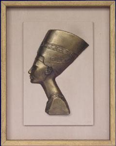art egyptien sculpture statuette bas relief cr ation par yvern. Black Bedroom Furniture Sets. Home Design Ideas