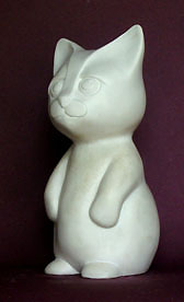 Chaton statuette sculpture